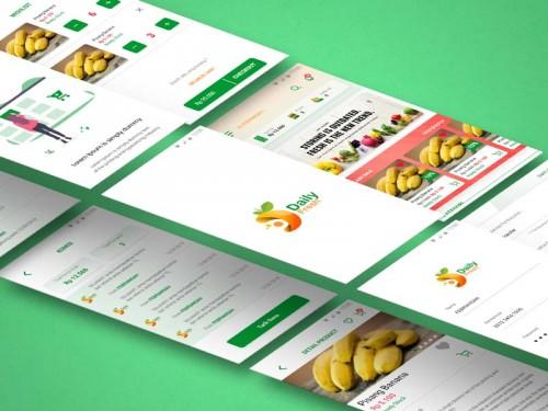 Aplikasi E-commerce Daily Fresh